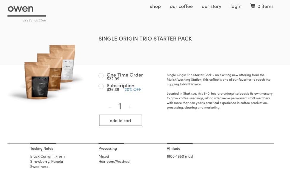 Online shopping interface using Adobe-Symphony Commerce integration
