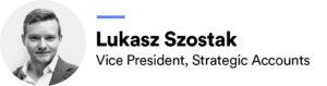 Lukasz Szostak headshot