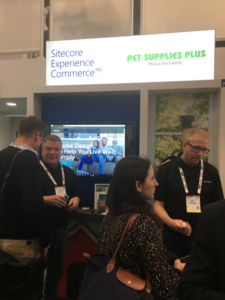 Sitecore booth at NRF 2018