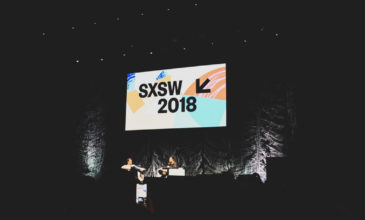 SXSW 2018 conference main stage