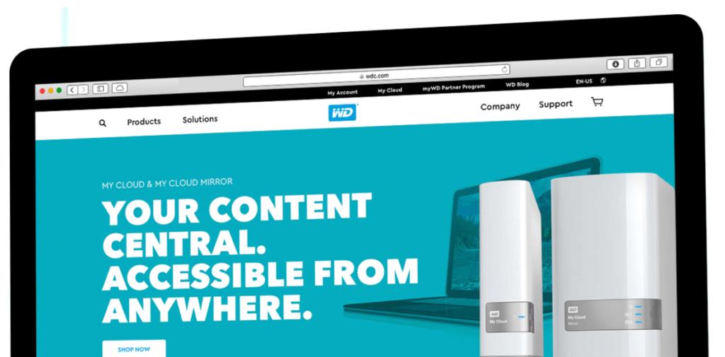 Western Digital Website