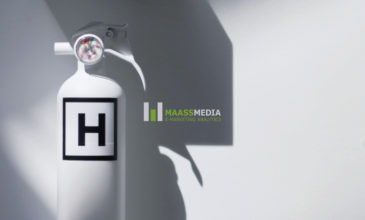 MaassMedia and Hero Digital logos