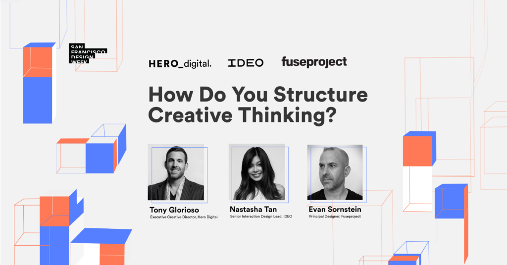 How Do You Structure Creative Thinking? SFDW Panel Hero Digital