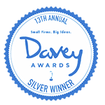 Davey Awards silver winner logo