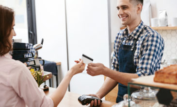 Barista engaging with customer to deliver an emotional customer experience