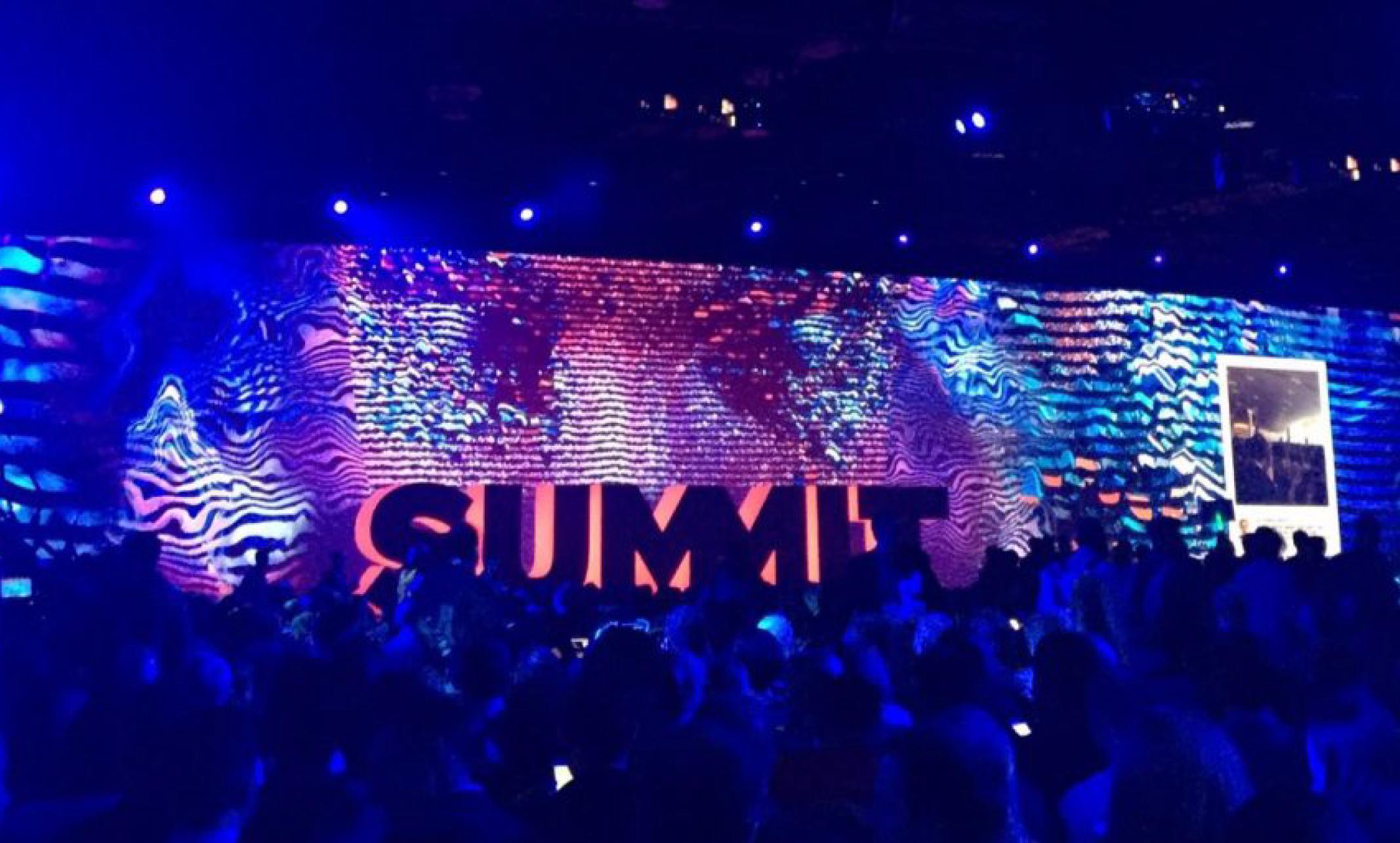 Adobe Summit stage view