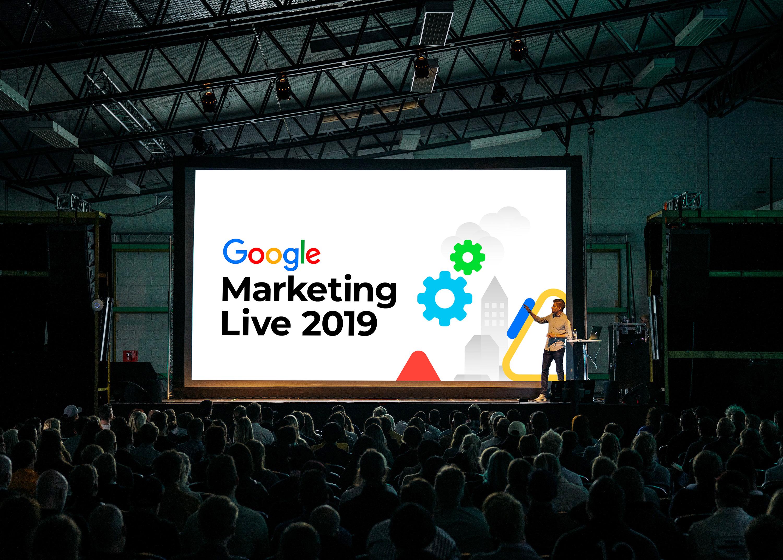 Google Marketing Live presentation
